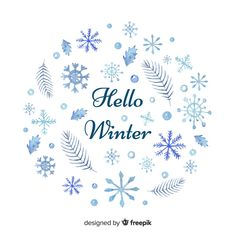 Merry Christmas Background, Winter Background, Hello Winter, Winter Snow, Christmas Poster, Backgrounds Free, Snowflakes, Vector Free, Collections