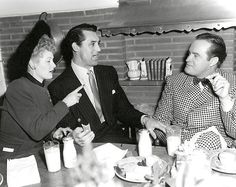 1947 Lucille Ball - Cary Grant & Bob Hope At A Party