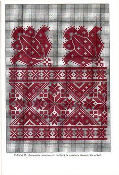 Learn to Crochet – Crochet Wave Fan Edging. Just Cross Stitch, Simple Cross Stitch, Cross Stitch Borders, Cross Stitch Alphabet, Cross Stitch Designs, Cross Stitching, Cross Stitch Patterns, Towel Embroidery, Folk Embroidery