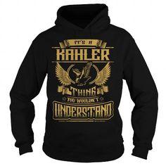 Cool KAHLER, KAHLERYEAR, KAHLERBIRTHDAY, KAHLERHOODIE, KAHLERNAME, KAHLERHOODIES - TSHIRT FOR YOU T-Shirts