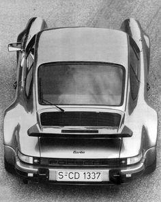 1974 Porsche Turbo Body Shape