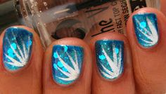 Karine's Vernis Club: Firework nails- Tutorial