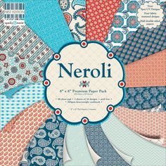 Neroli Paper Pad - 8 X 8 Inches | Card Making Supplies at The Works