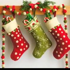 How to hang stockings
