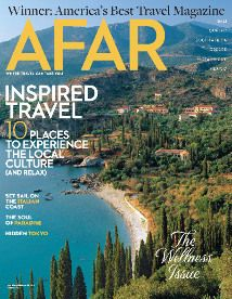 We love the idea of giving a travel magazine like Afar Magazine or National Geographic Traveler!