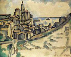 Paisagem de Cadaqués, 1913 André Derain (França, 1880-1954) óleo sobre tela Coleção Particular