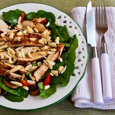 20 Favorite Beat-the-Heat Summer Salad Recipes to Make with Leftover Rotisserie Chicken  from Kalyn's Kitchen