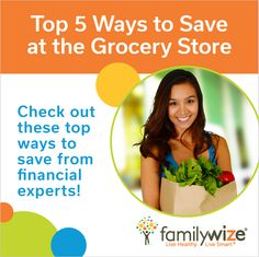 Top 5 Ways to Save at the Grocery Store