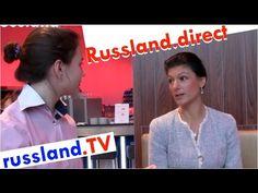 Sahra Wagenknecht im Interview zu Russland