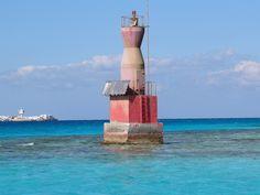 Egyptian lighthouse in Hurghada.