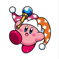 Kirby beam By Nintendo LINE