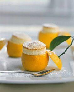 Little Lemon Souffles: Elegant Easter Eats