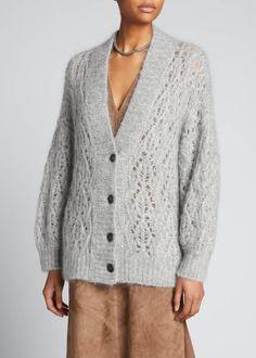 Sweater Cardigan, Men Sweater, Knit Fashion, Brunello Cucinelli, Knitwear, Bergdorf Goodman, Cashmere, Luxury Fashion, Long Sleeve