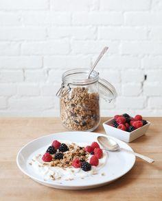 Healthy Recipe – Blueberry Walnut Granola | Free People Blog