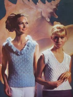 1960's Vintage Crochet and Knit Patterns by vintageknitcrochet, $4.00