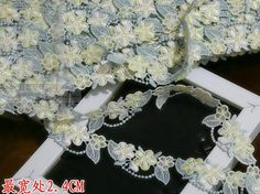 2.4cm 0.98inch wide 7yards/lot Diy Craft Water soluble Embroidered Lace Trim Venise Lace Trim Lace Ribbon  Lovely-in Lace from Home & Garden on Aliexpress.com   Alibaba Group