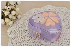 【77' s 原创】 紫色心情立体收纳化妆包 进口夏威夷拼布材料包-淘宝网全球站