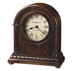 This beautiful dark wood clock is a classic in any home! Find it at #OssianFurniture
