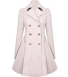 Jubileens Women's Double-Breasted Lapel Trench Coat Jacke... https://www.amazon.com/dp/B01LCL51KE/ref=cm_sw_r_pi_dp_x_d-oIzb62XF0DC
