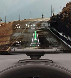 Smart GPS Glass