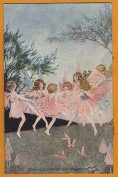 Ida Rentoul OUTHWAITE postcard