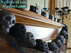 Haunted Halloween Home Tour http://www.restorationredoux.com/?p=6636