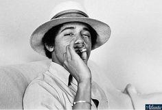 Livro revela que Obama fumava maconha durante faculdade - Internacional - R7