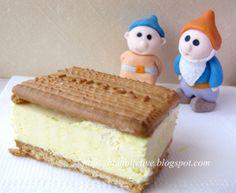 biscotto gelato fatto in casa