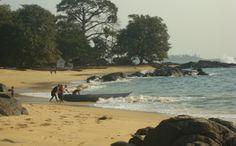 Tribewanted, John Obey Beach, Sierra Leone, Africa: John Obey Beach (Image: © Tribewanted)