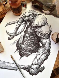 #creatuanary Day 29: #elephant #warrior by Dibujante-nocturno on DeviantArt