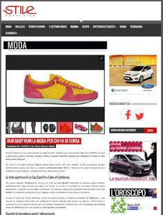 STILE FEMMINILE consiglia le nostre sneackers ➞ http://www.stilefemminile.it/run-baby-run-la-moda-per-chi-va-di-corsa/