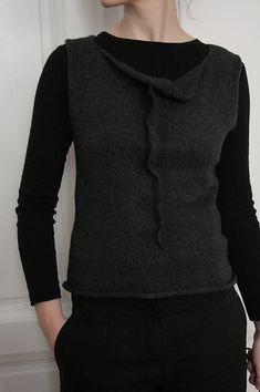 Assemblage Thursday Vest Knitting Pattern