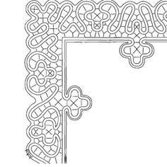 Archív albumov Lace Patterns, Bobbin Lace, Symbols, Letters, Album, Crochet, Tips, Bobbin Lace Patterns, Trapper Keeper
