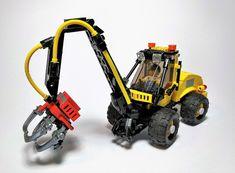 Cool Lego, Cool Toys, Lego Tractor, Lego Universe, Lego Super Mario, Lego Kits, Lego Construction, Farm Toys, Lego Worlds
