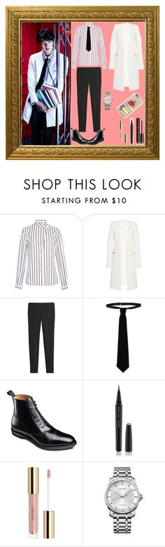 """""""Matching Outfit (BTS Jin """"Dope"""")"""" by park-jimin ❤ liked on Polyvore featuring Alexis Mabille, Thierry Mugler, White House Black Market, RED Valentino, Chanel, Marc Jacobs, Calvin Klein and Casetify"""