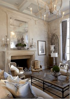 11 Beautiful French Country Living Room Decor Ideas