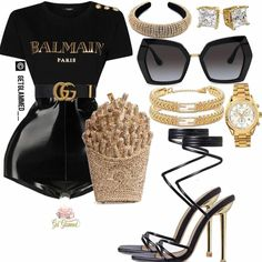 Boujee Outfits, Cute Swag Outfits, Dope Outfits, Teen Fashion Outfits, Polyvore Outfits, Classy Outfits, Look Fashion, Stylish Outfits, Pretty Outfits