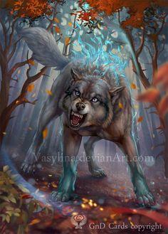 Wolf by Vasylina.deviantart.com on @DeviantArt