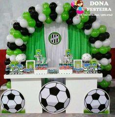Soccer Birthday Parties, Football Birthday, Soccer Party, Teen Birthday, Birthday Party Decorations, Party Themes, Soccer Decor, Soccer Banquet, Ninja Party