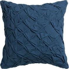 nip and tuck. Slubby cotton square fashions soft visual texture in a cushy… Green Pillows, Couch Pillows, Accent Pillows, Throw Pillows, Navy Pillows, Girls Apartment, Pillow Dress, Interior Design Boards, Guest Room Office