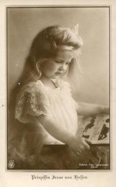 Princess Irene of Hesse, who would also agonize over her hemophiliac sons, which gave her a close bond with her sister, Empress Alexandra