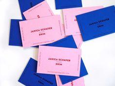 Business card - Janica Schafer