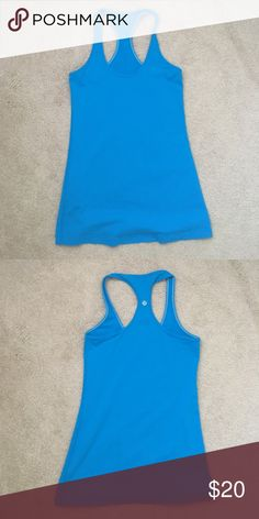 Lululemon tank Great condition! Only worn a few times lululemon athletica Tops Tank Tops