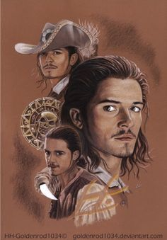 "Will Turner by goldenrod1034.deviantart.com on @deviantART - From ""Pirates of the Caribbean"""