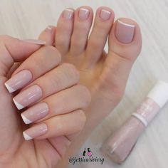 Discover new and inspirational nail art for your short nail designs. Acrylic Toe Nails, Pink Toe Nails, Cute Toe Nails, Toe Nail Color, Feet Nails, Nail Colors, Nail Pink, Nail Gel, Nail Polish