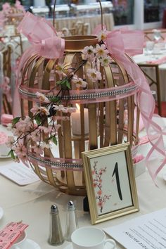 Ideas Wedding Table Ideas Pink Cherry Blossoms For 2019 Cherry Blossom Centerpiece, Cherry Blossom Party, Cherry Blossoms, Japanese Party, Japanese Wedding, Japanese Theme Parties, Wedding Table Settings, Setting Table, Wedding Centerpieces