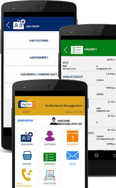 Kapture mobile app of crm that helps to manage your business in all aspects