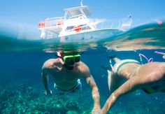 Sandals takes you out to some of the best reefs in the Caribbean to enjoy incredible snorkeling.