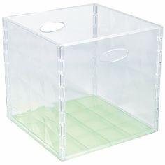 FACILITY Contenitore Cristall Box 31x31xh.30 cm - Bricoio