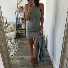 Caroline Knit Dress